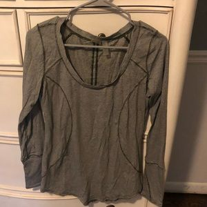 Zella work out shirt with thumb holes